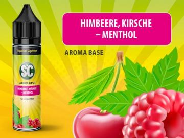 Himbeere, Kirsche-Menthol 0mg/ml 50ml